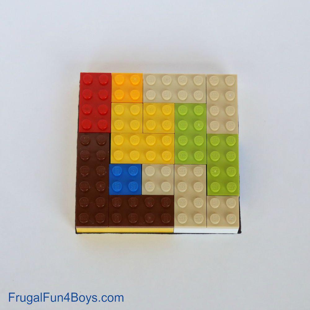 LEGO Brain Puzzles: Building Challenge for Kids