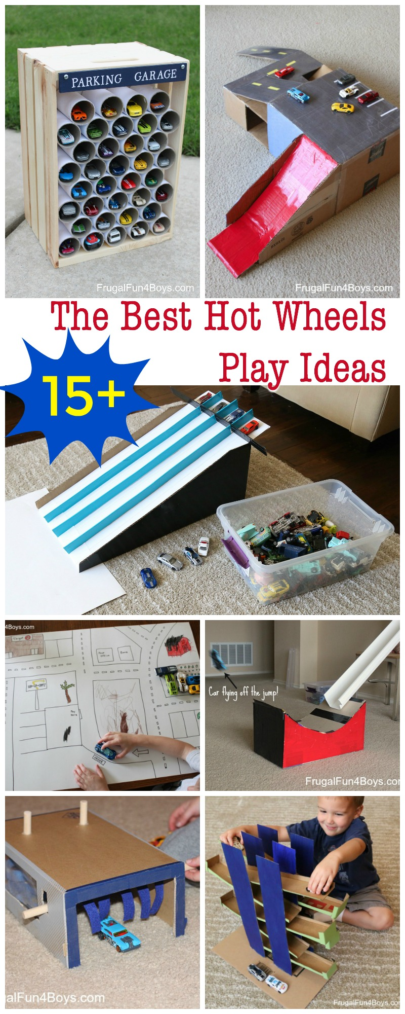 The Best Projects to Make for Hot Wheels Cars