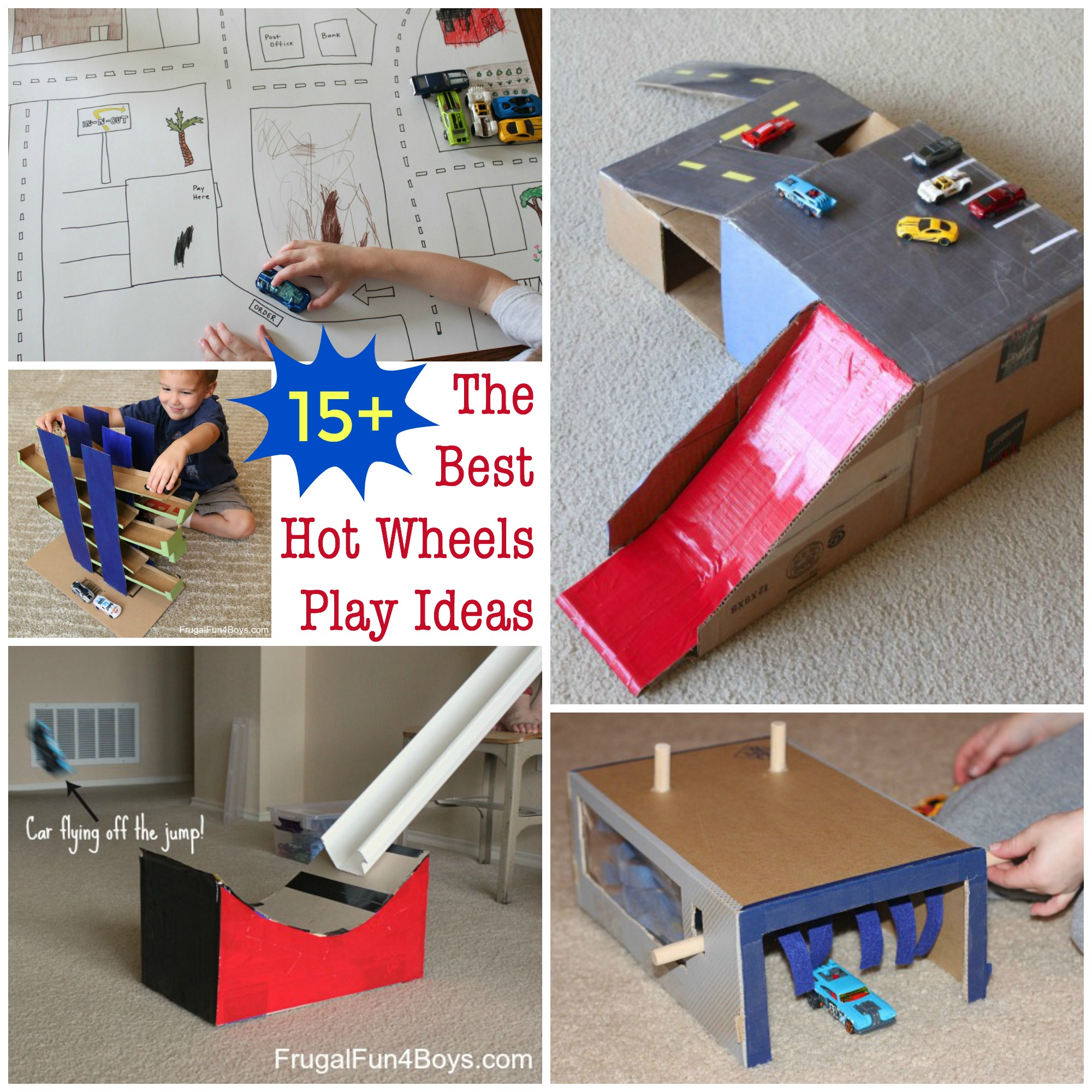 10 Ideas About Cardboard Box Cars On Pinterest: The BEST Toy Car Play Ideas