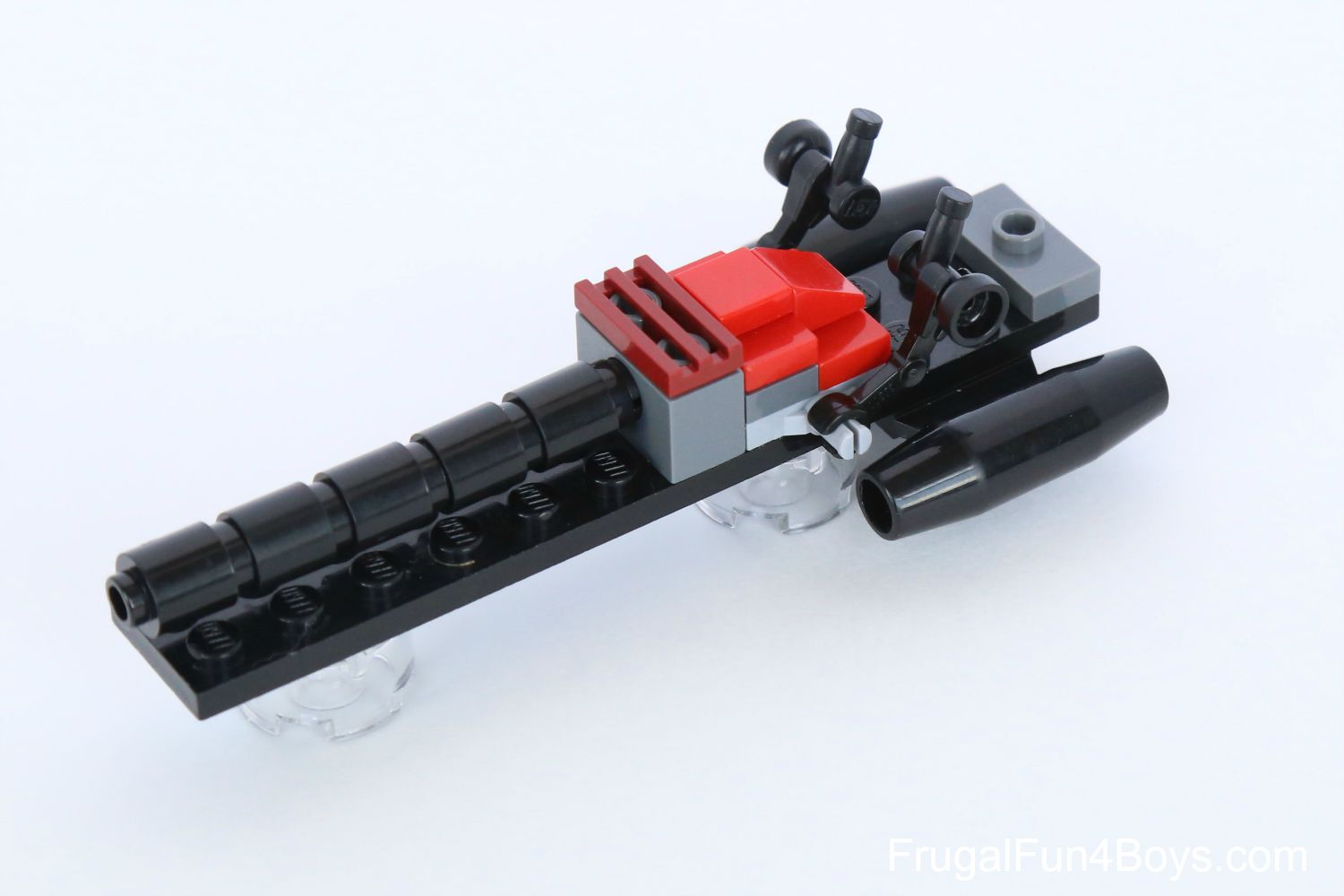 lego how to build cool guns