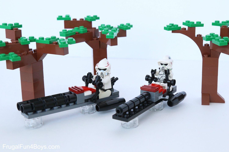 How to Build LEGO Star Wars Speeders