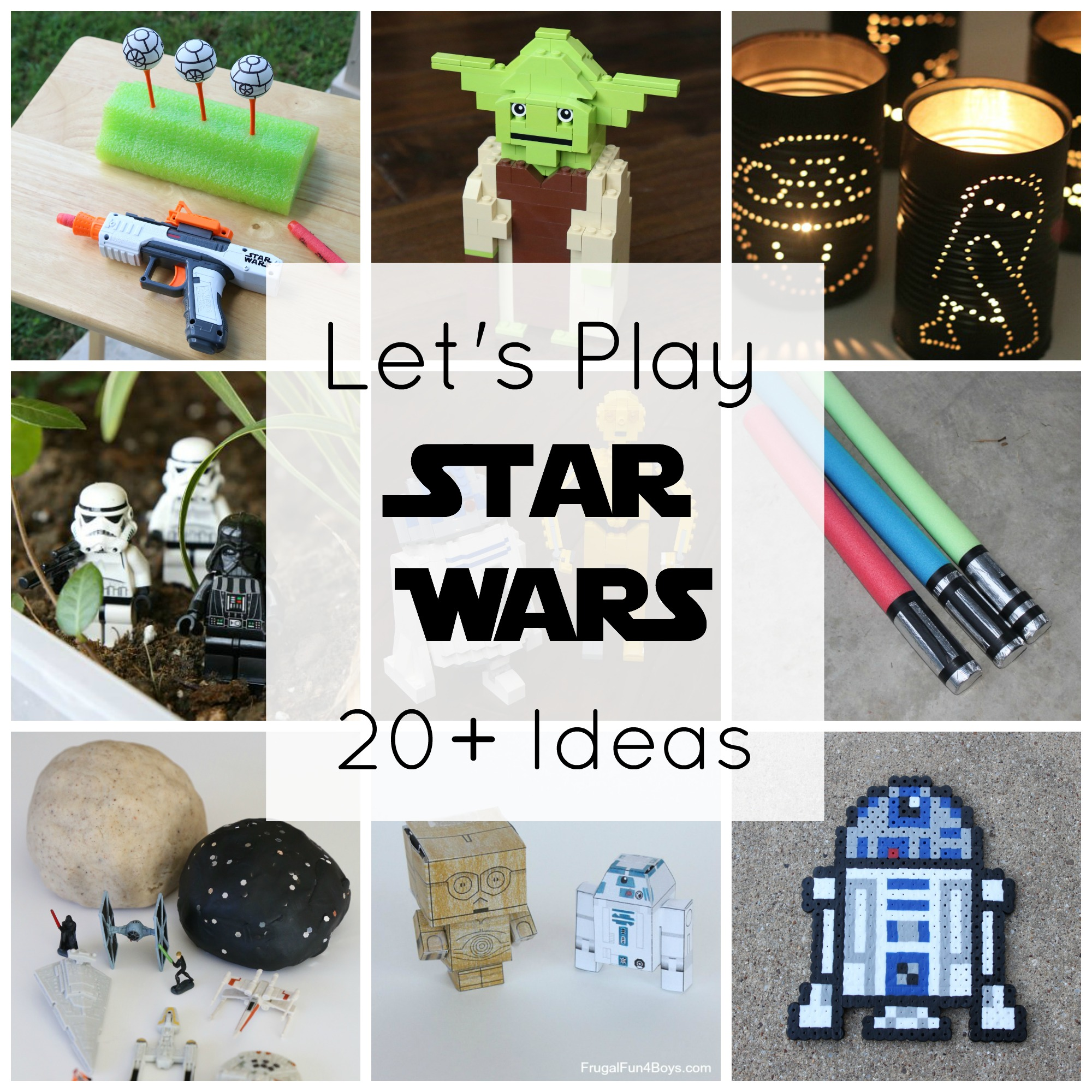 20+ Star Wars Crafts and Activities for Kids
