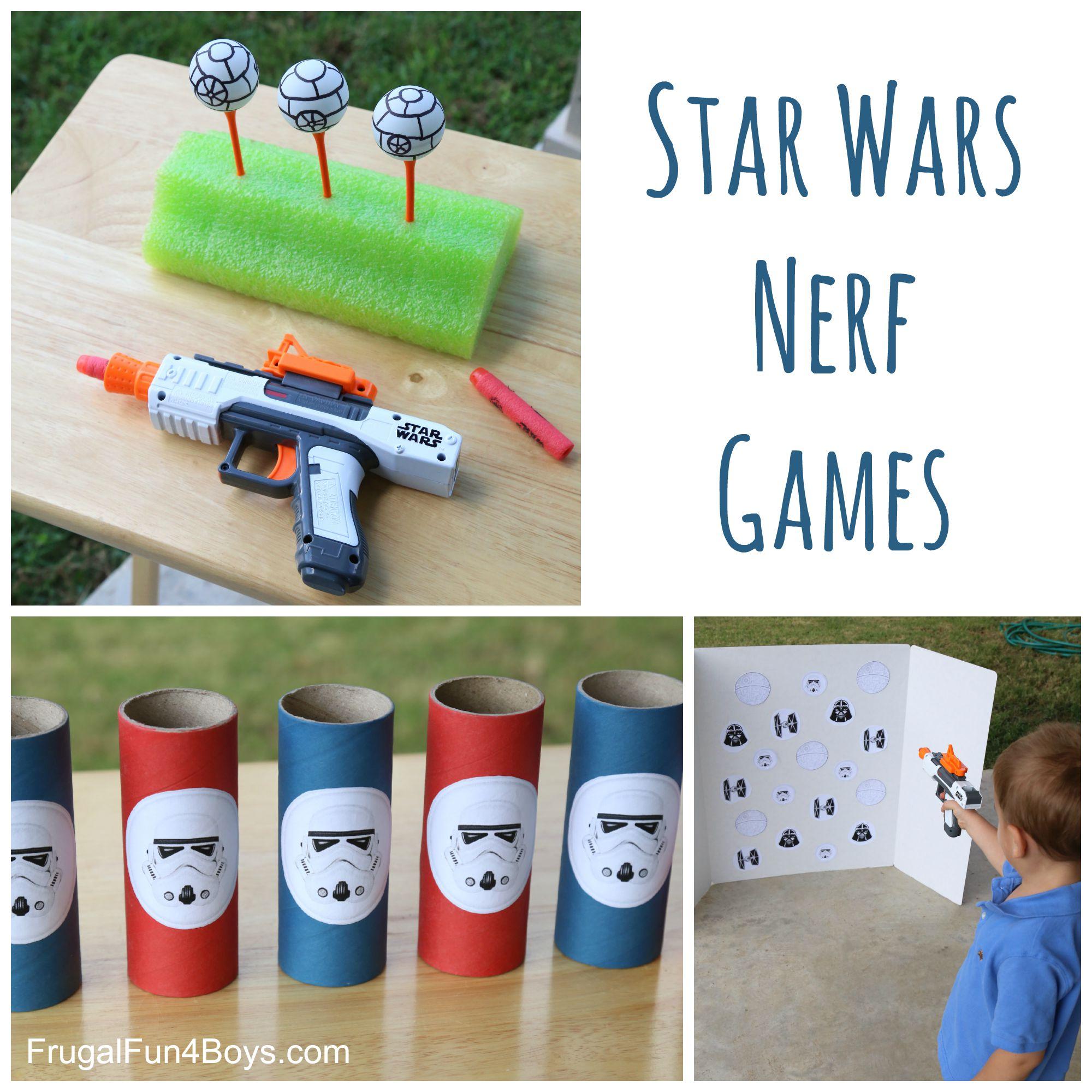 Star Wars Nerf Games