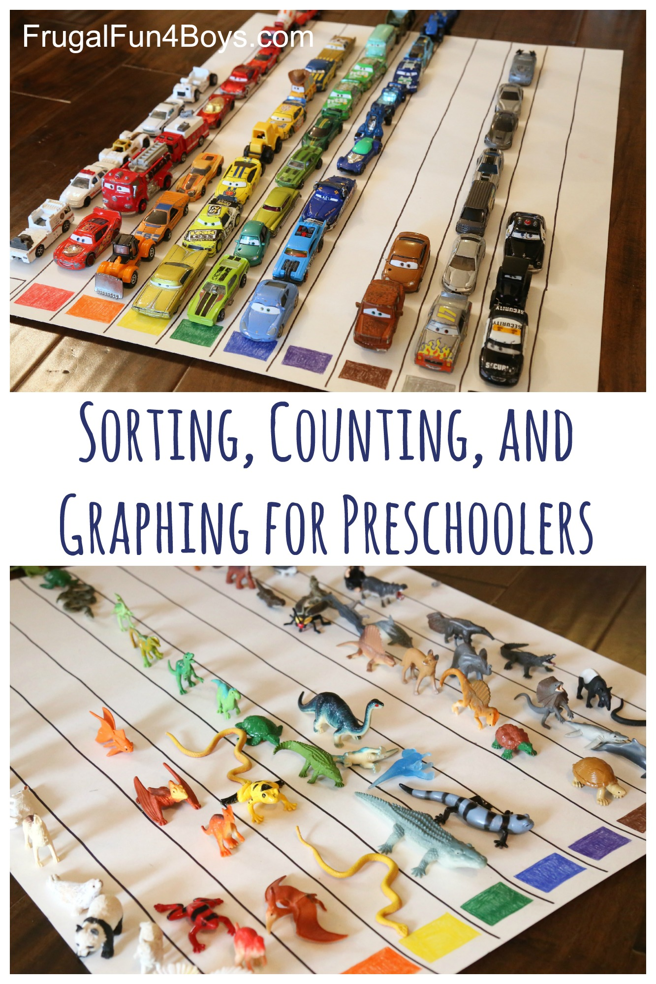 sorting counting and graphing for preschoolers. Black Bedroom Furniture Sets. Home Design Ideas