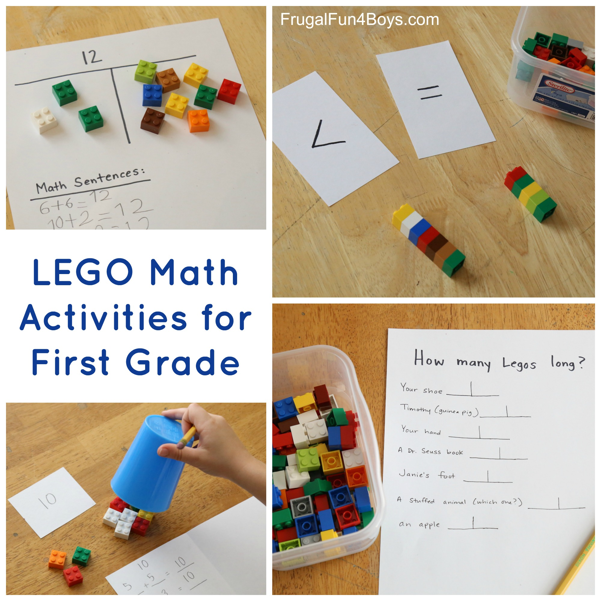 Lego Activities For First Grade Math Frugal Fun For Boys And Girls