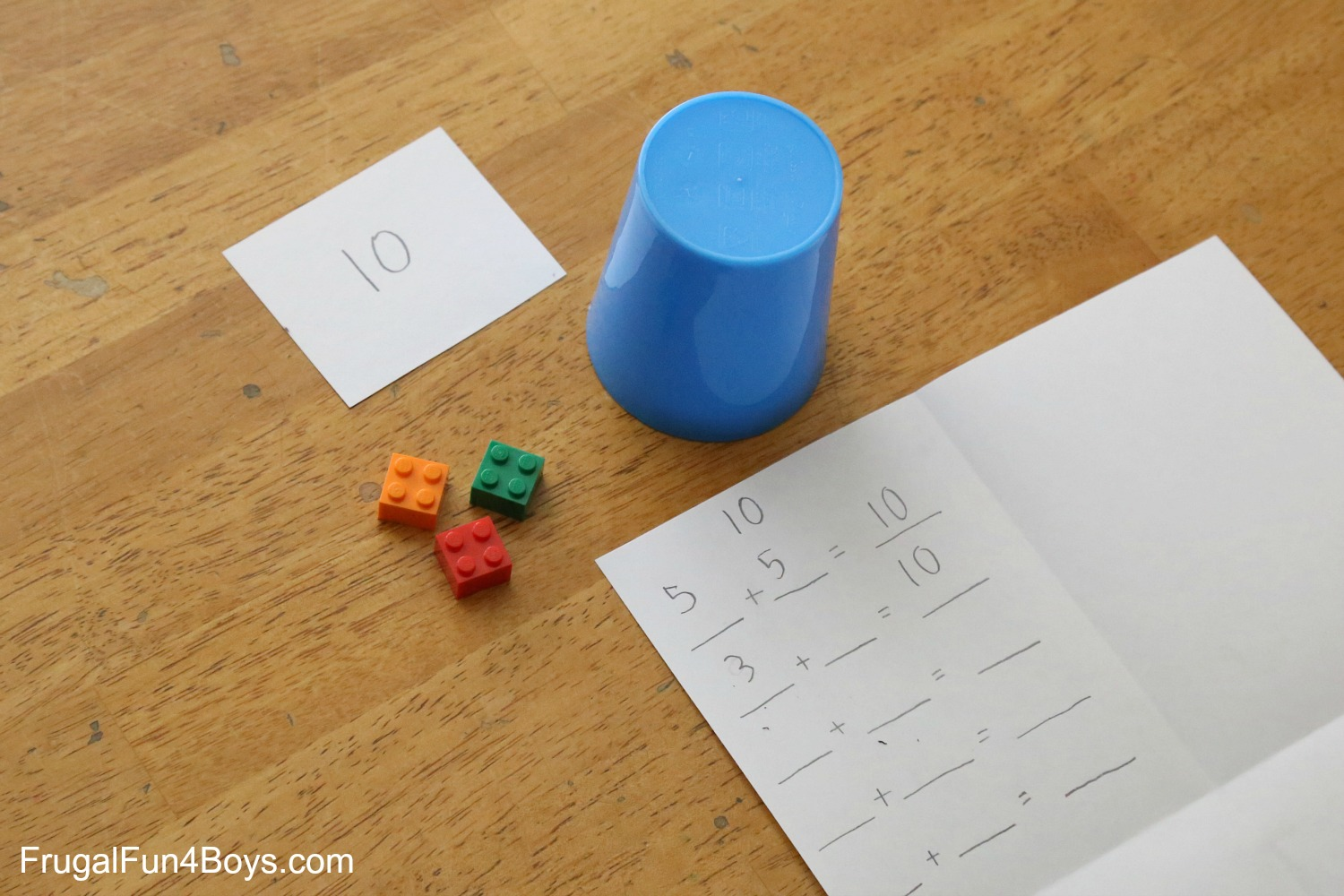 LEGO Math Lessons for First Grade