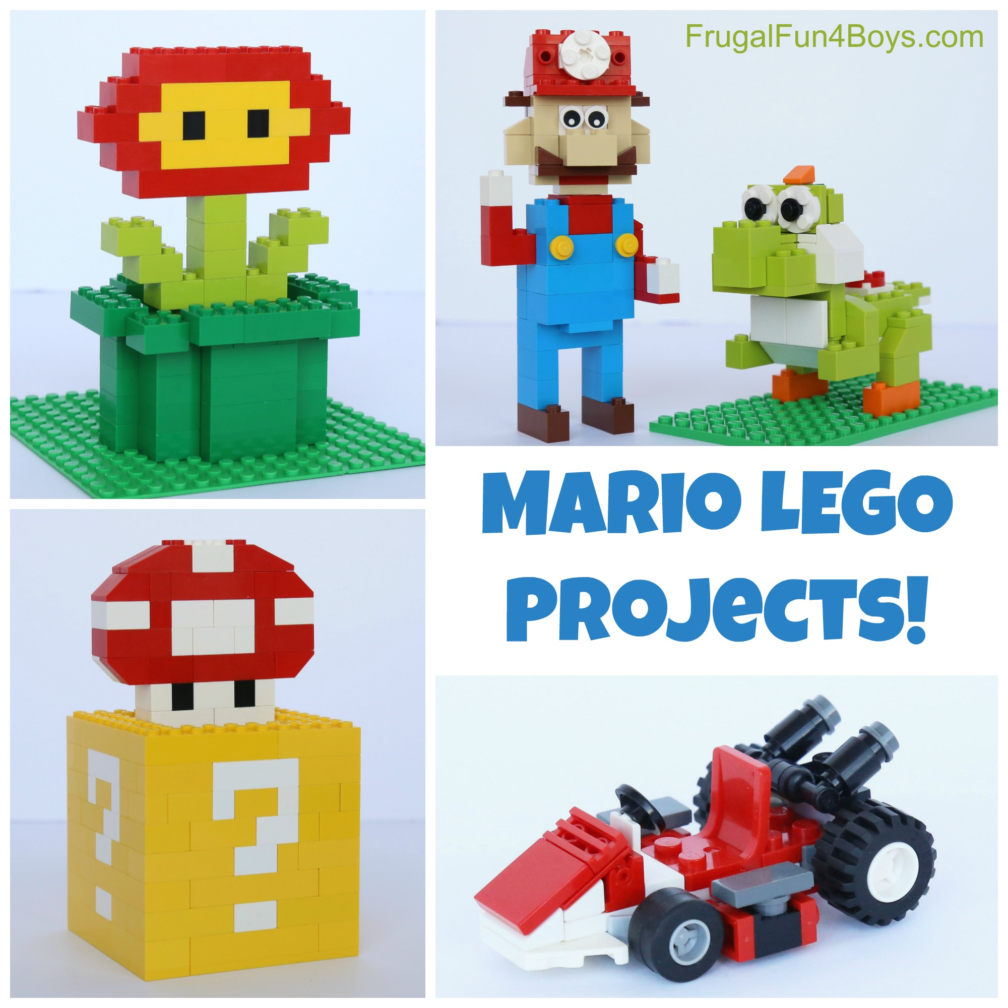 Mario Lego Projects With Building Instructions Lego T