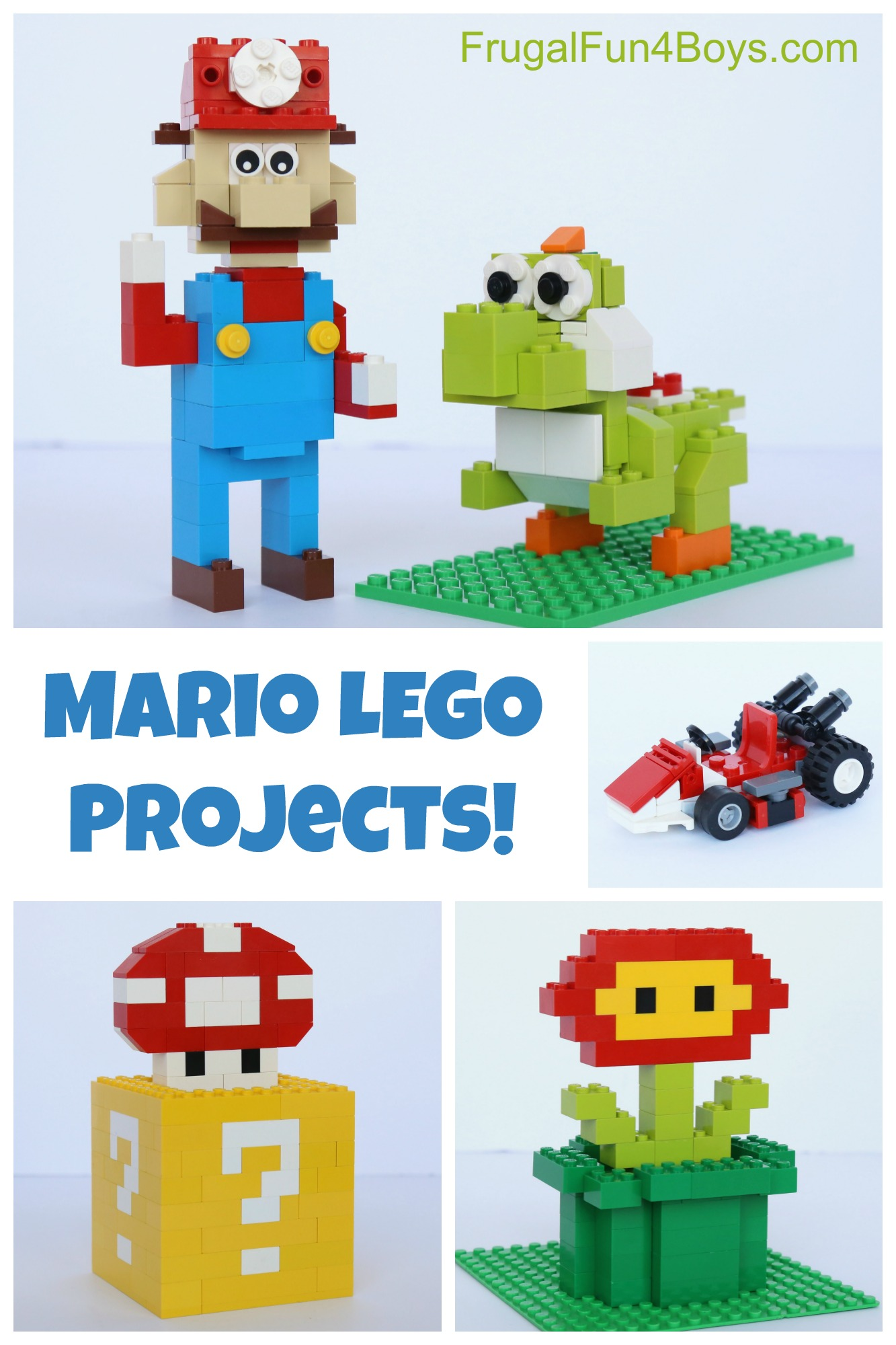 mario lego projects with building instructions. Black Bedroom Furniture Sets. Home Design Ideas