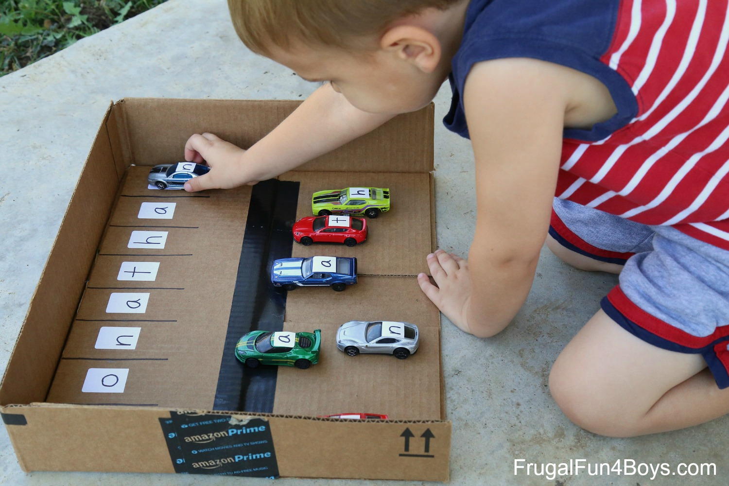 Learn Your Name with Hot Wheels Cars!