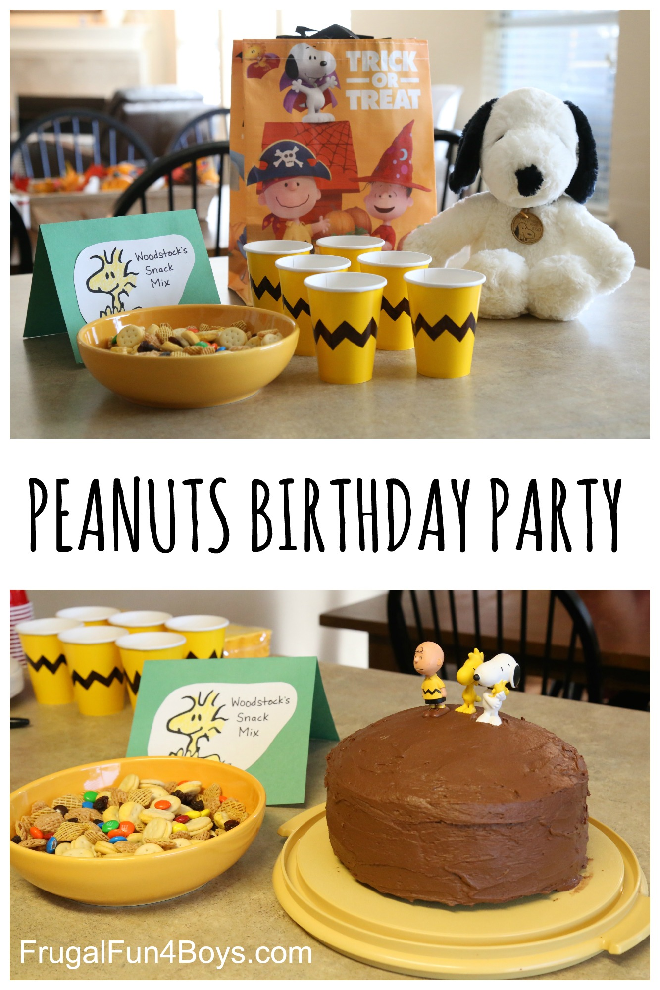 Fun Food Ideas for a Peanuts Birthday Party