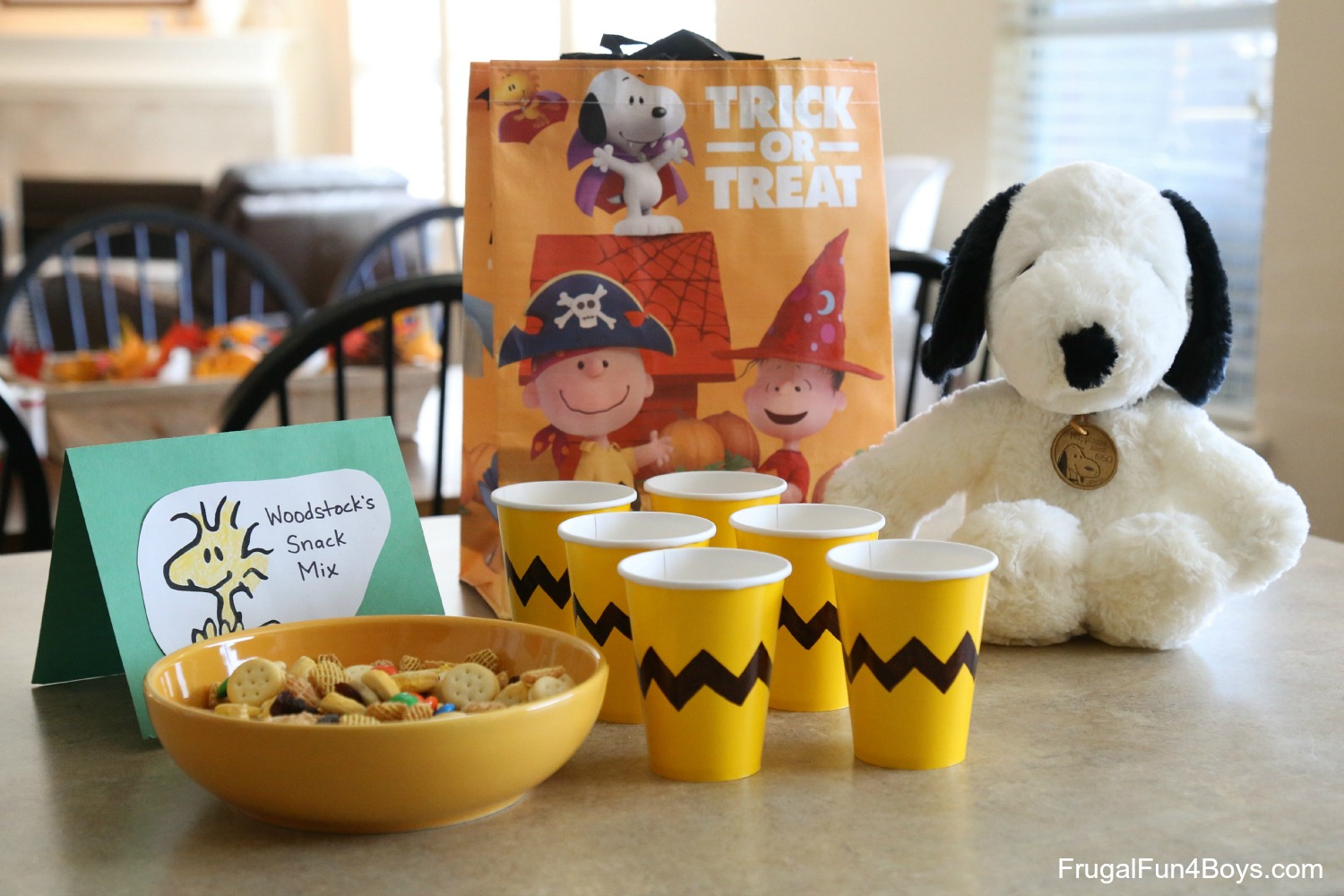 Fun Food Ideas for a Peanuts Birthday Party - Frugal Fun For Boys ...