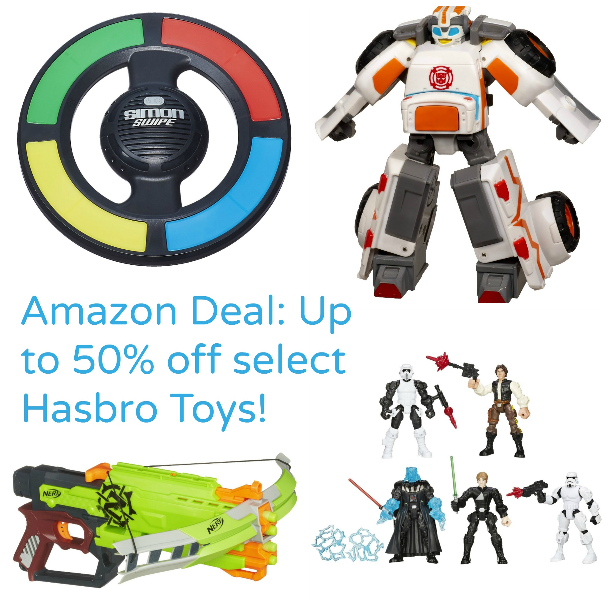 Amazon Deal of the Day:  Up to 50% off select Hasbro Toys