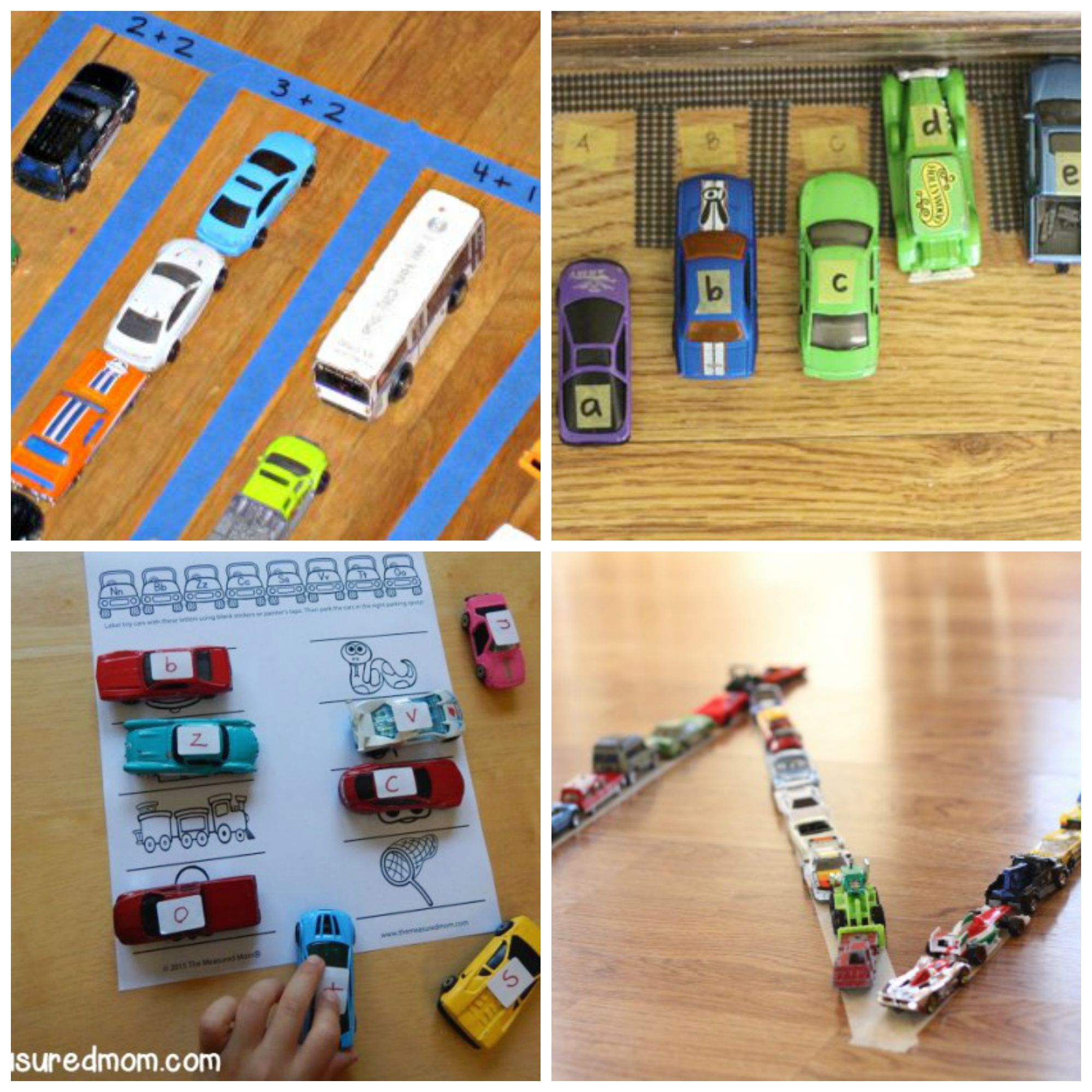 Learning Activities for Kids Who Love Cars