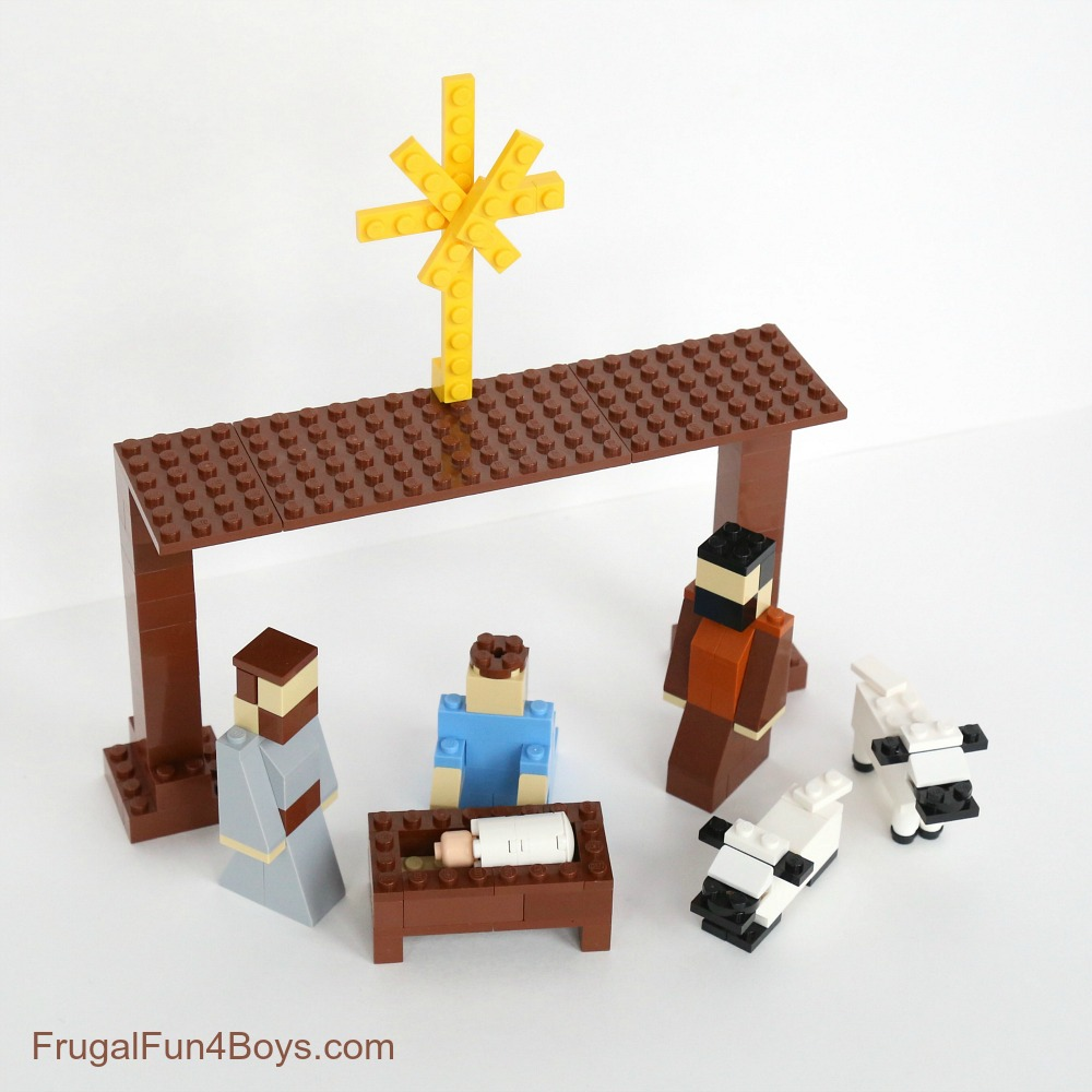 LEGO Nativity Set Instructions