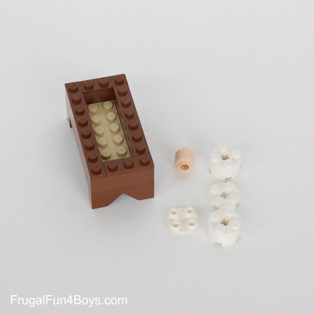LEGO Nativity Set Instructions