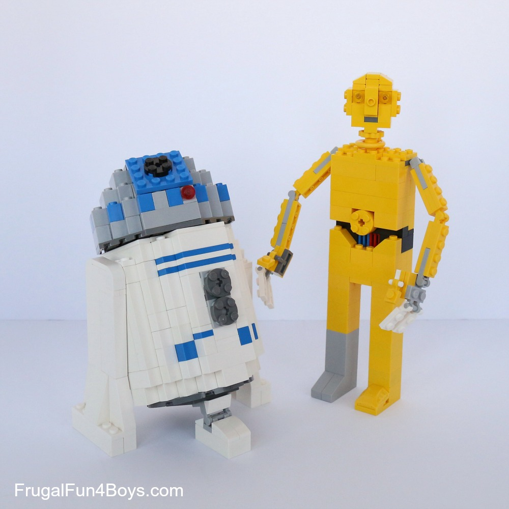 LEGO Star Wars C3PO Building Instructions