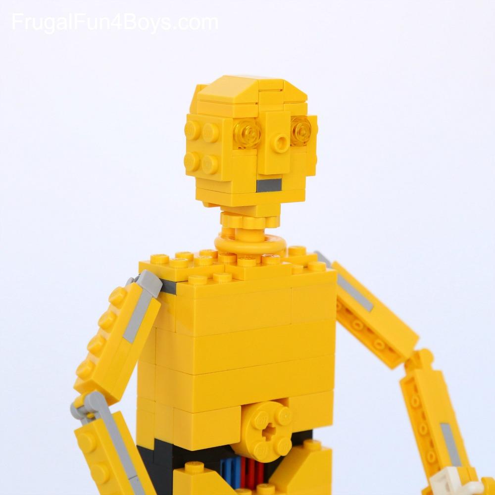 LEGO C3PO Building Instructions