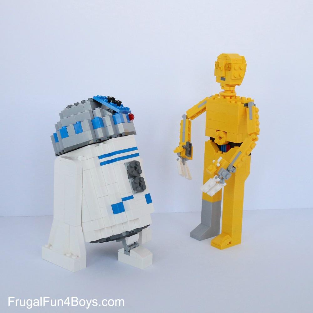 R2d2 And C3po Lego LEGO Star Wars C3PO Bu...
