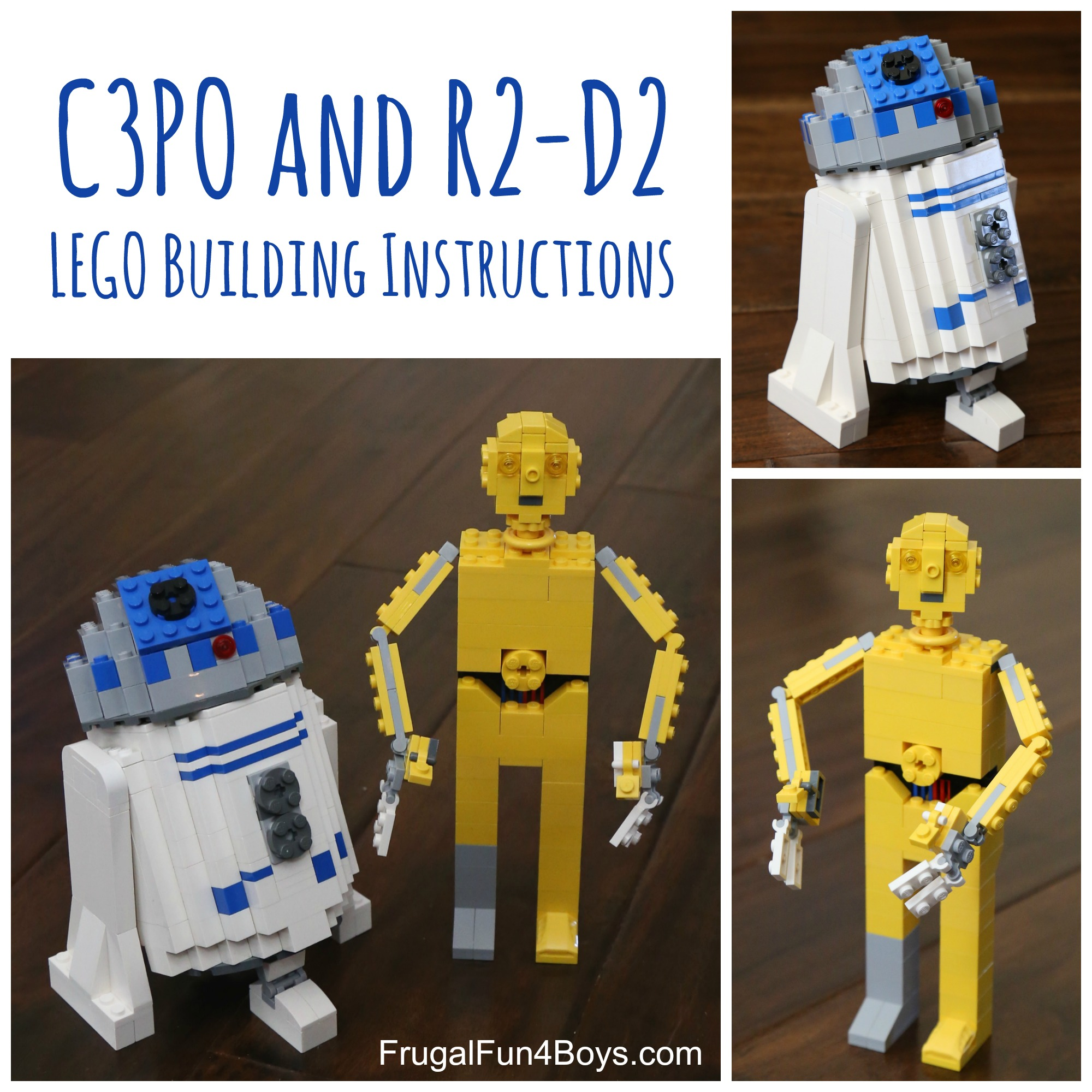 Lego Star Wars C3po Building Instructions Frugal Fun For Boys And