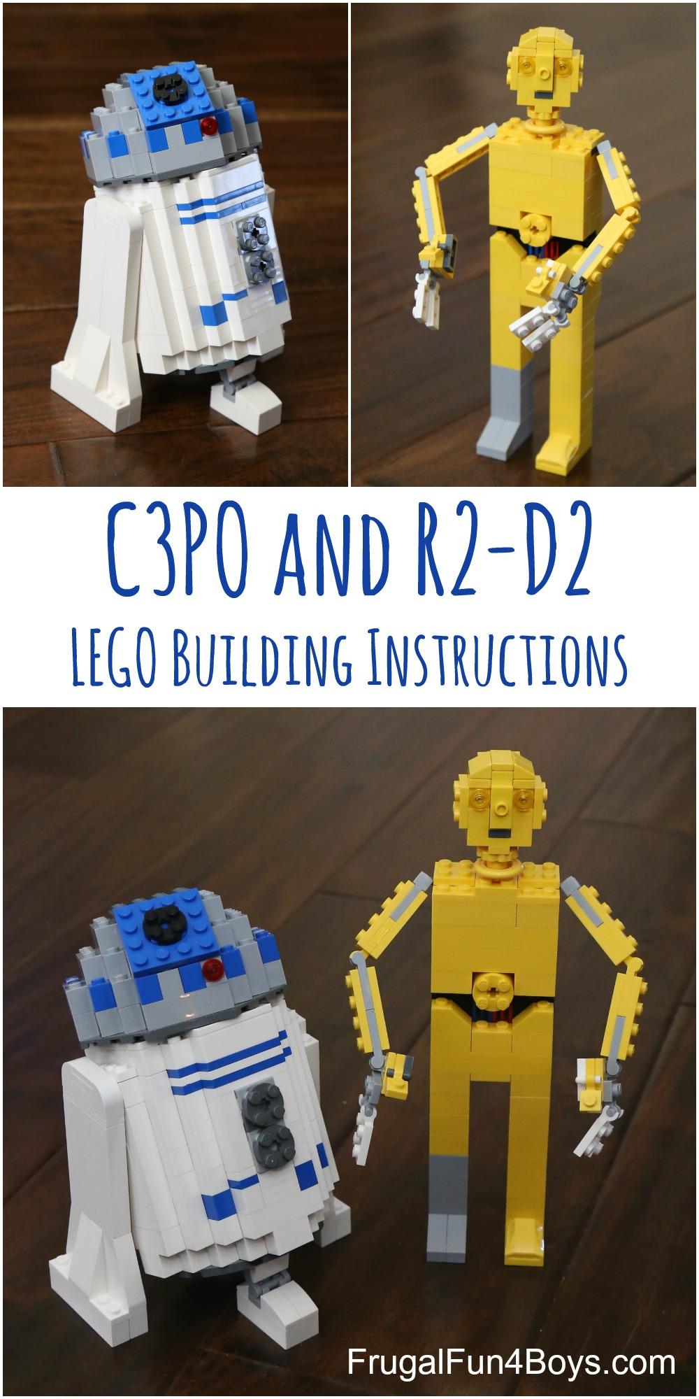 R2d2 And C3po Lego LEGO C3PO and R2-D2 Bu...