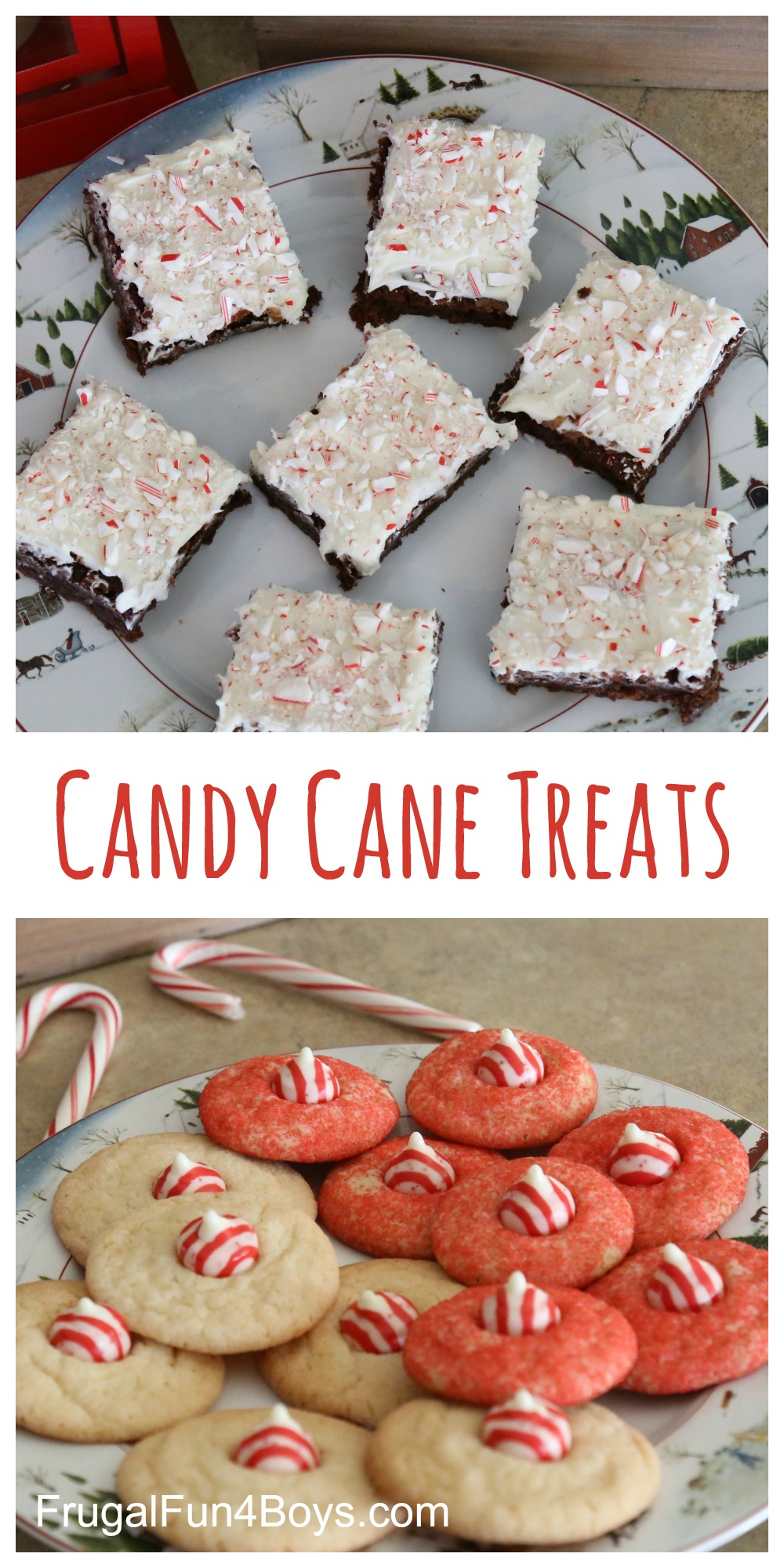 Candy Cane Holiday Treats for Kids to Make and Give