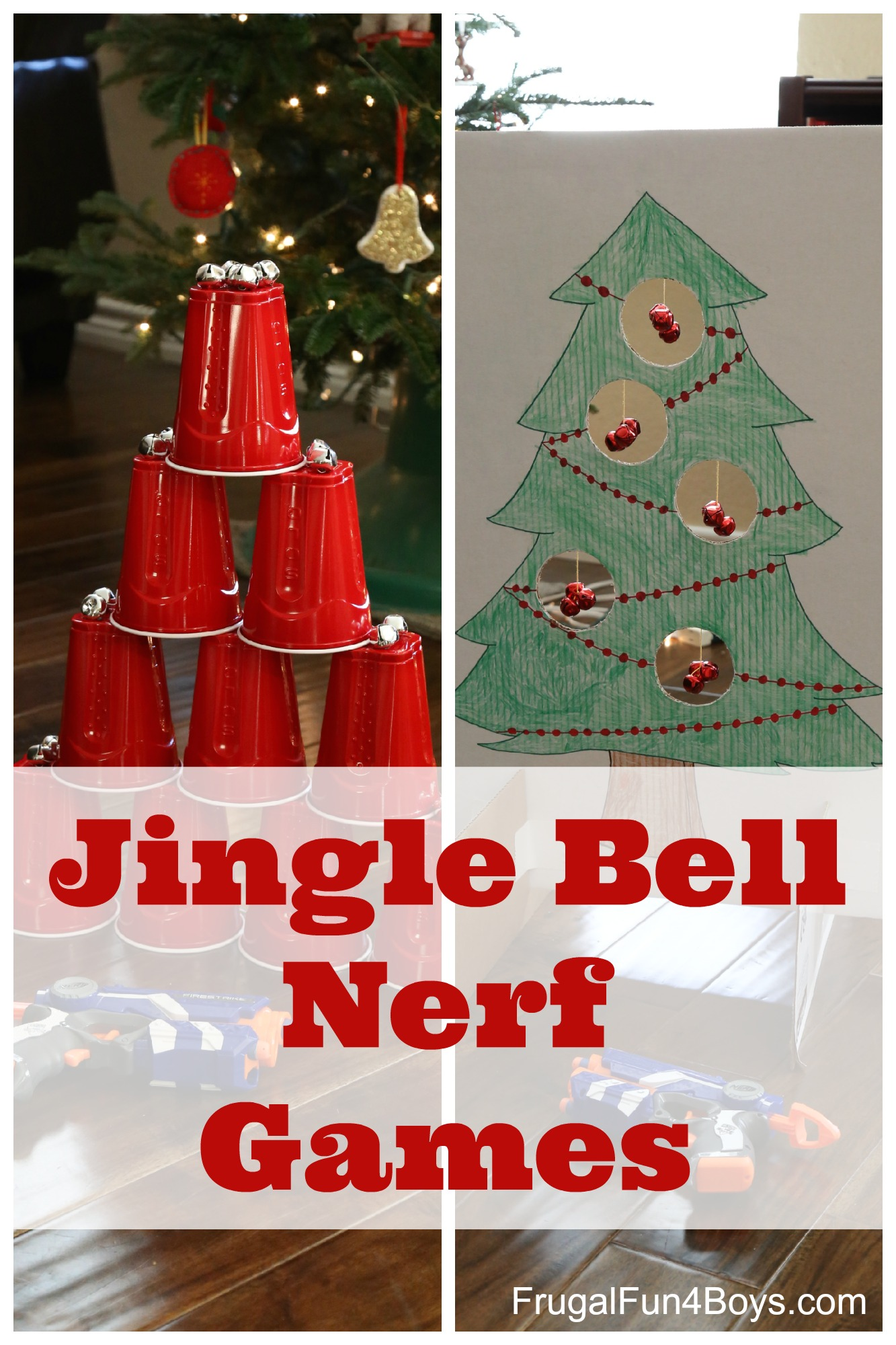 christmas party games jingle bell nerf frugal for boys and 31174