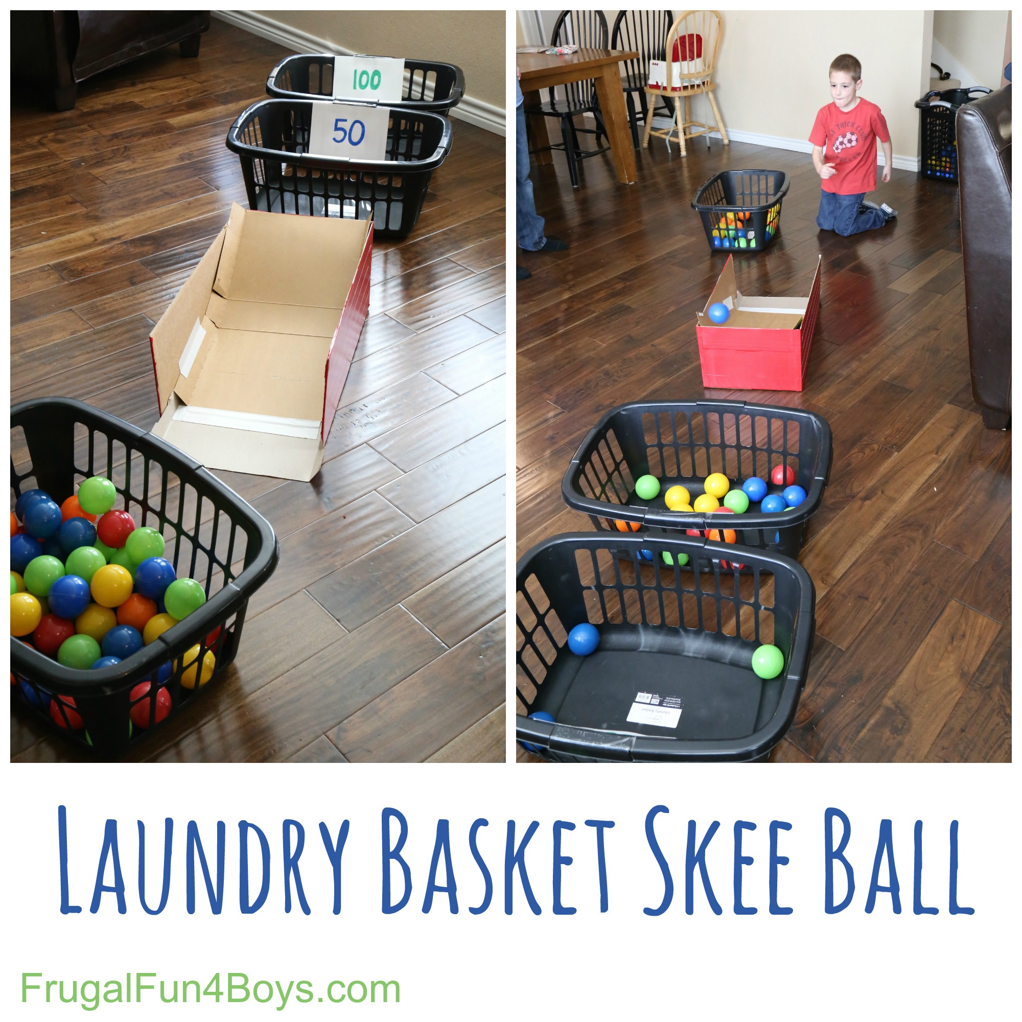 Fun games to play around the house