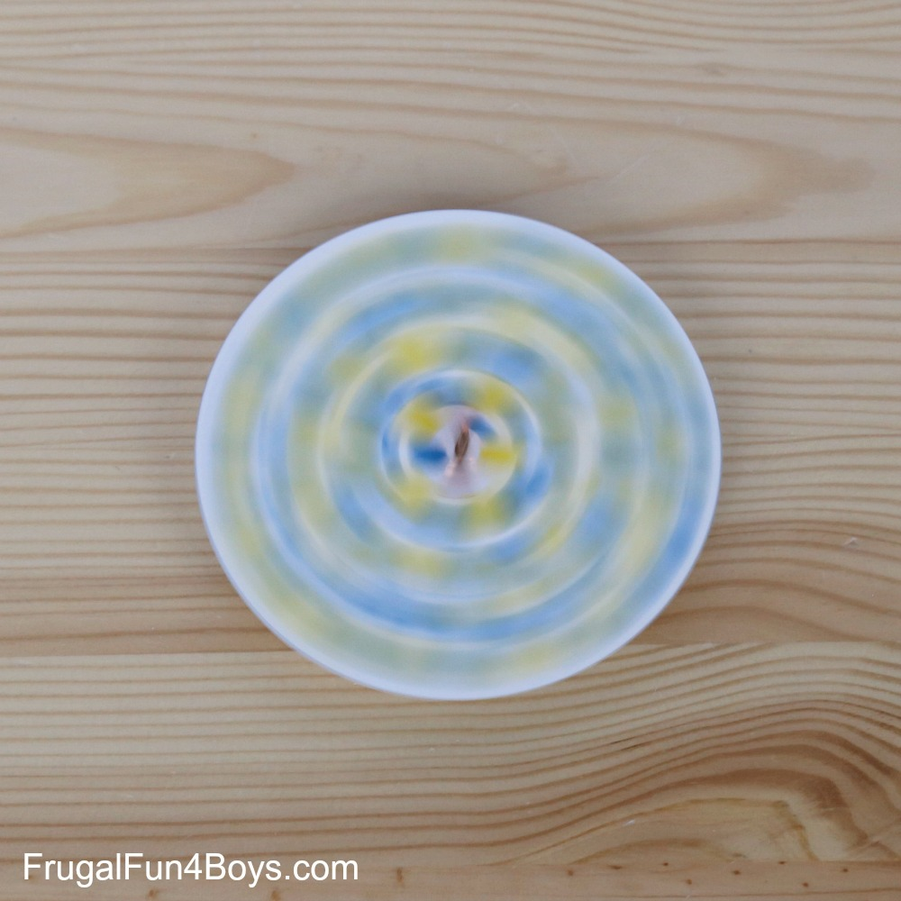 Penny Spinners Toy Tops for Kids to Make & Penny Spinners u2013 Toy Tops that Kids Can Make!