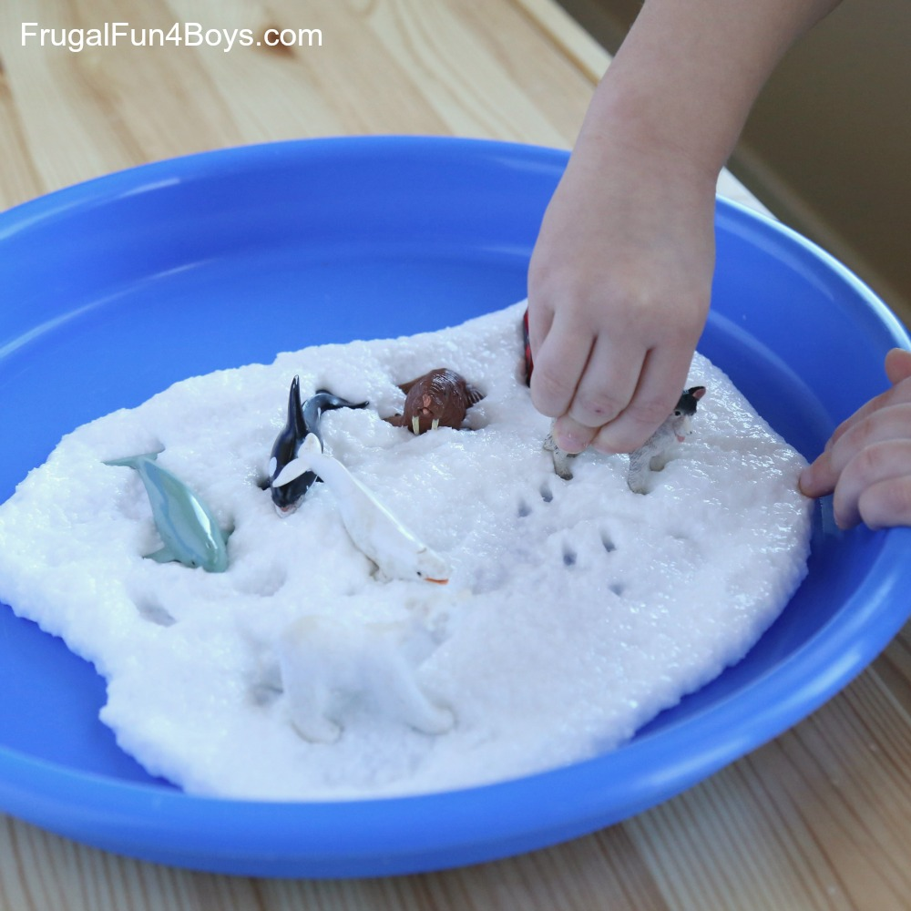 How to make snow slime ccuart Gallery