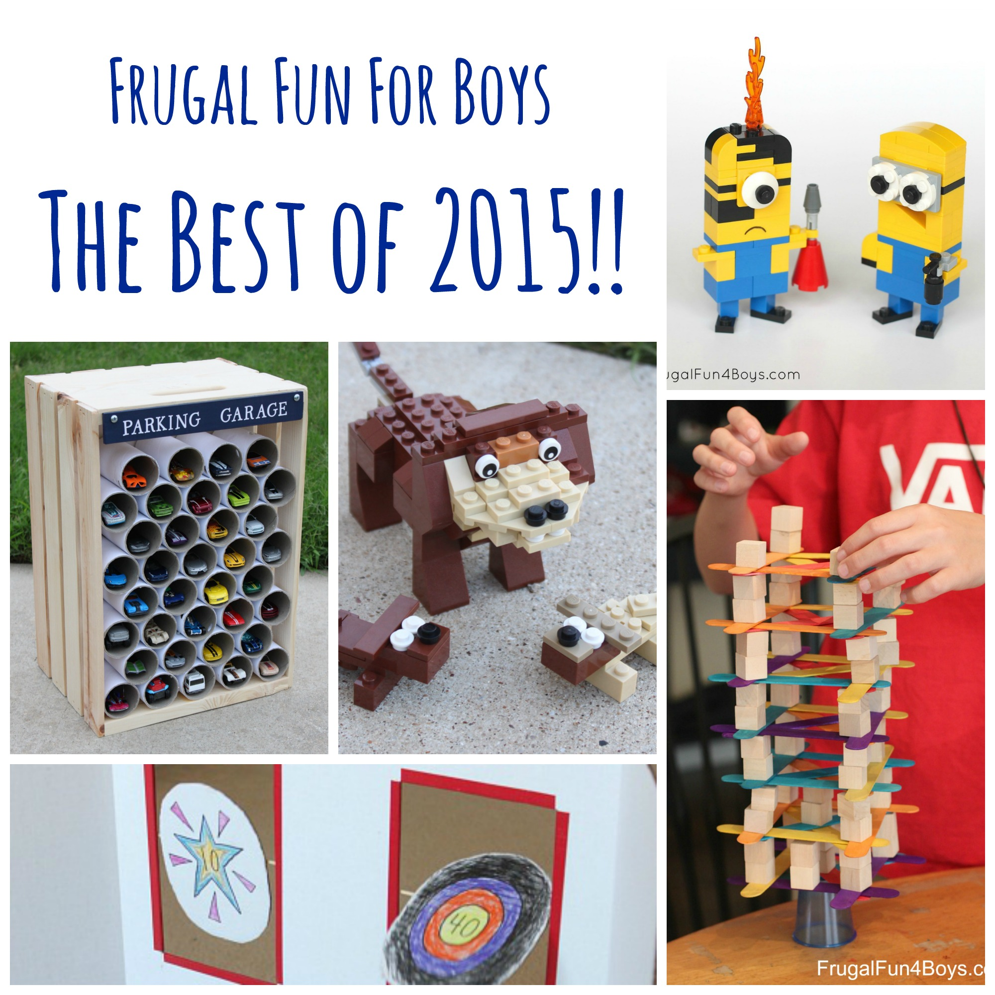 The Top 15 Posts from Frugal Fun for Boys in 2015!