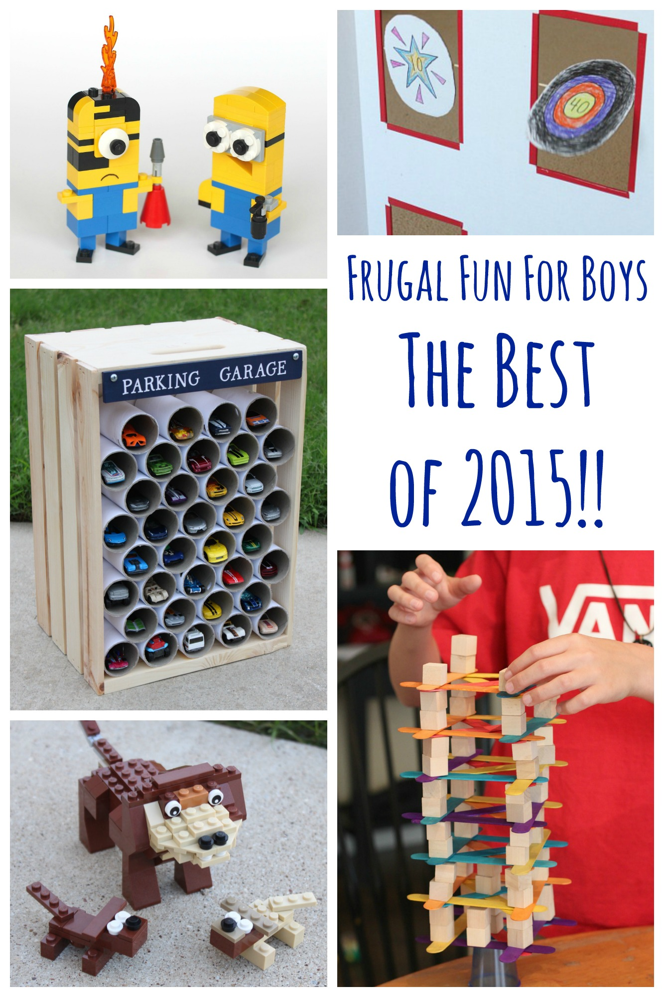 Frugal Fun for Boys - The Top 15 Posts of 2015