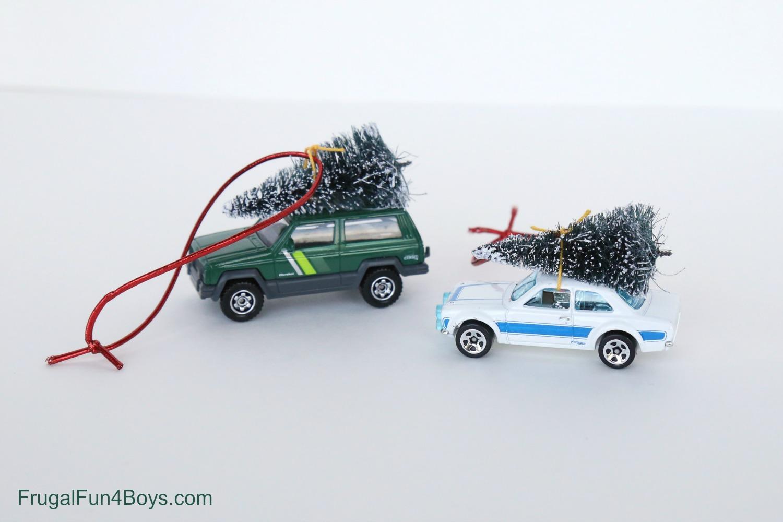 Christmas Tree Car Ornament