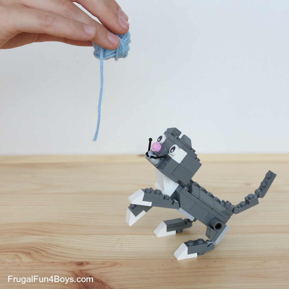 LEGO Pets! Building Instructions