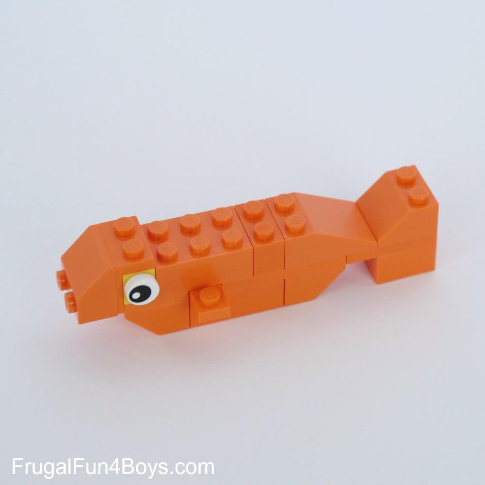 LEGO Pets Building Instructions