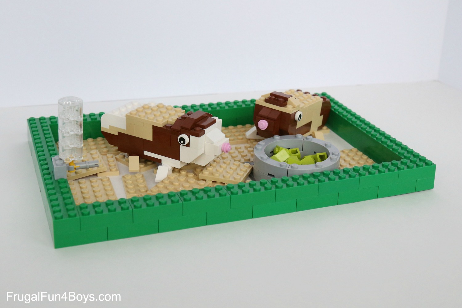LEGO Pets! Building Instructions for Dogs, Cats, Guinea Pigs, Fish, and More!