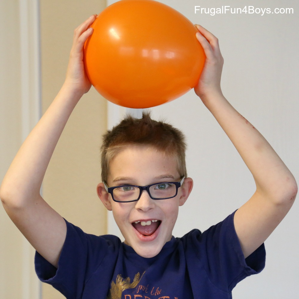 Jumping Goop! Static Electricity Demonstration