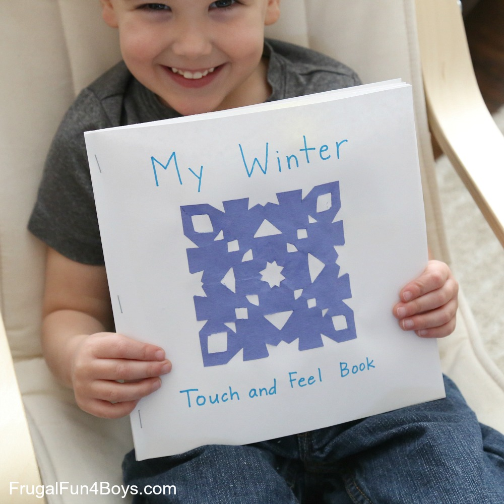 Winter Touch and Feel Book