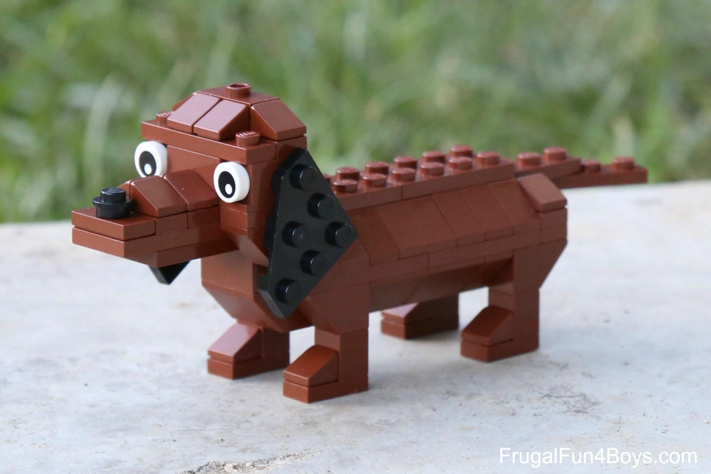 lego dog house instructions