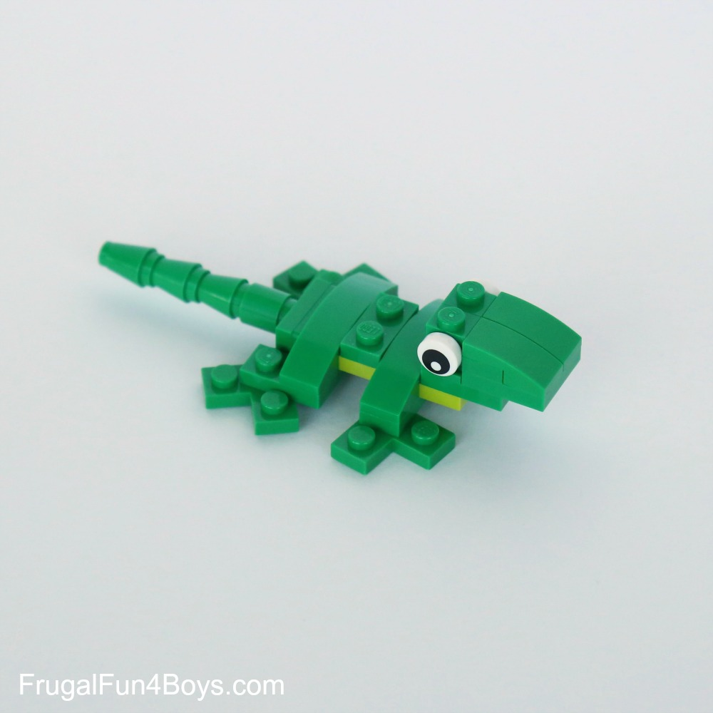 Lego lizard building instructions for How to build a house step by step instructions
