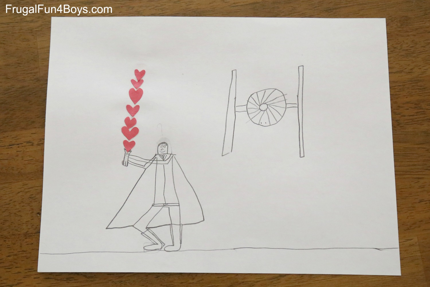 Art for Kids: Heart Drawing Challenge