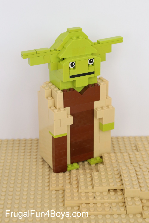 lego yoda building instructions - Lego Yoda