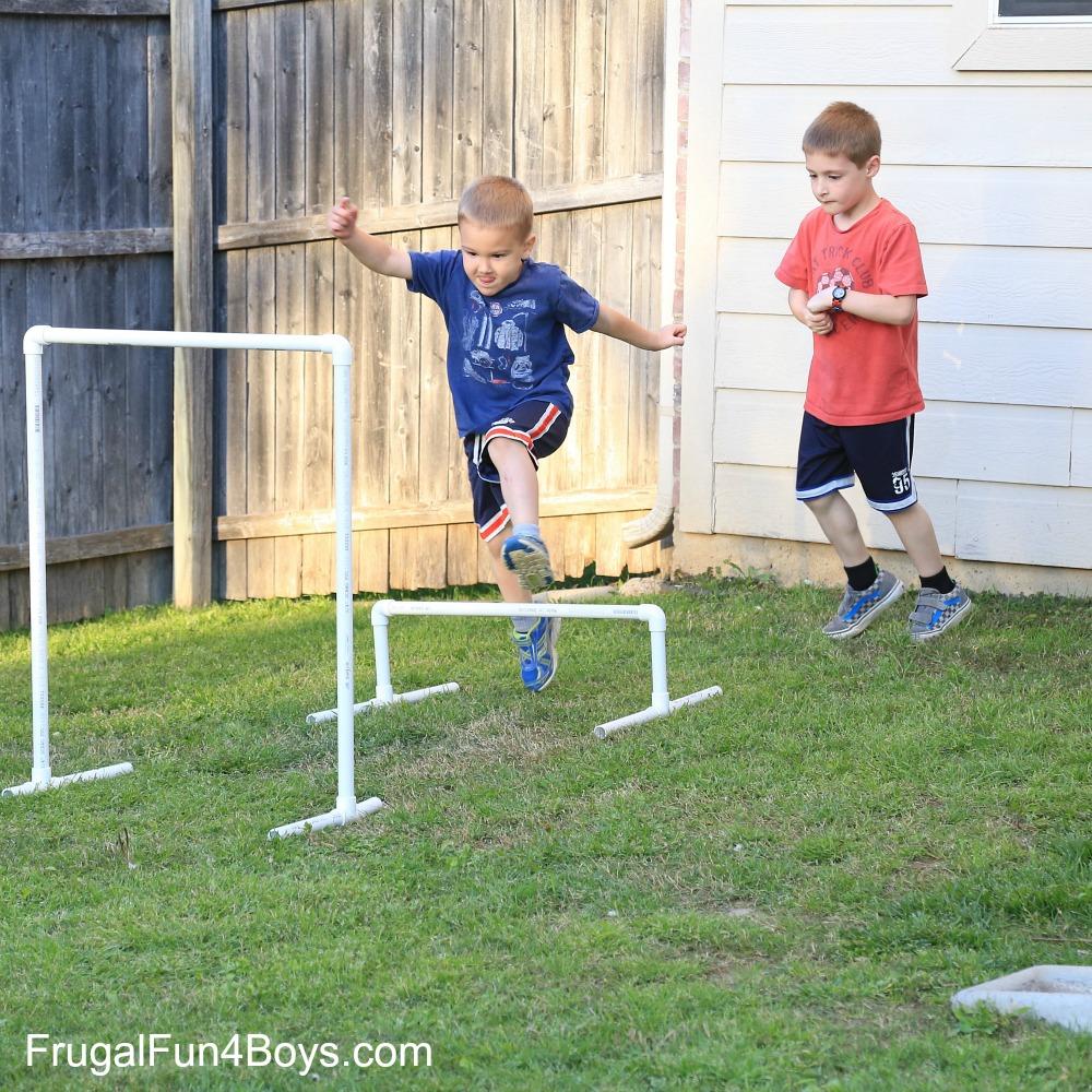 diy american ninja warrior backyard obstacle course