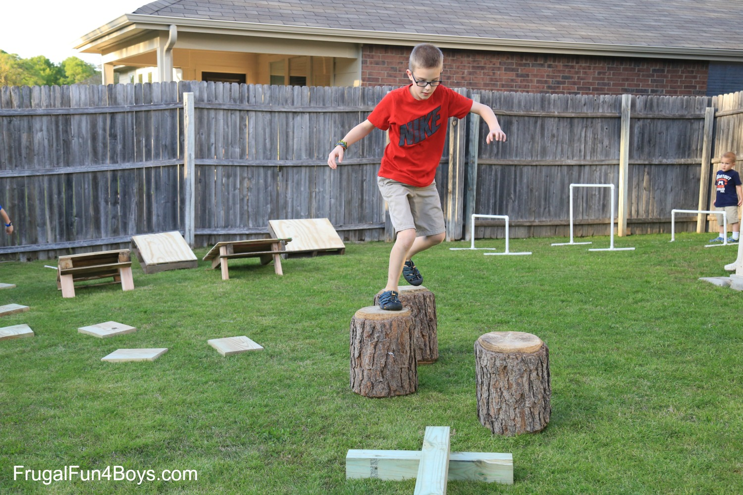 Superieur Backyard Obstacle Course