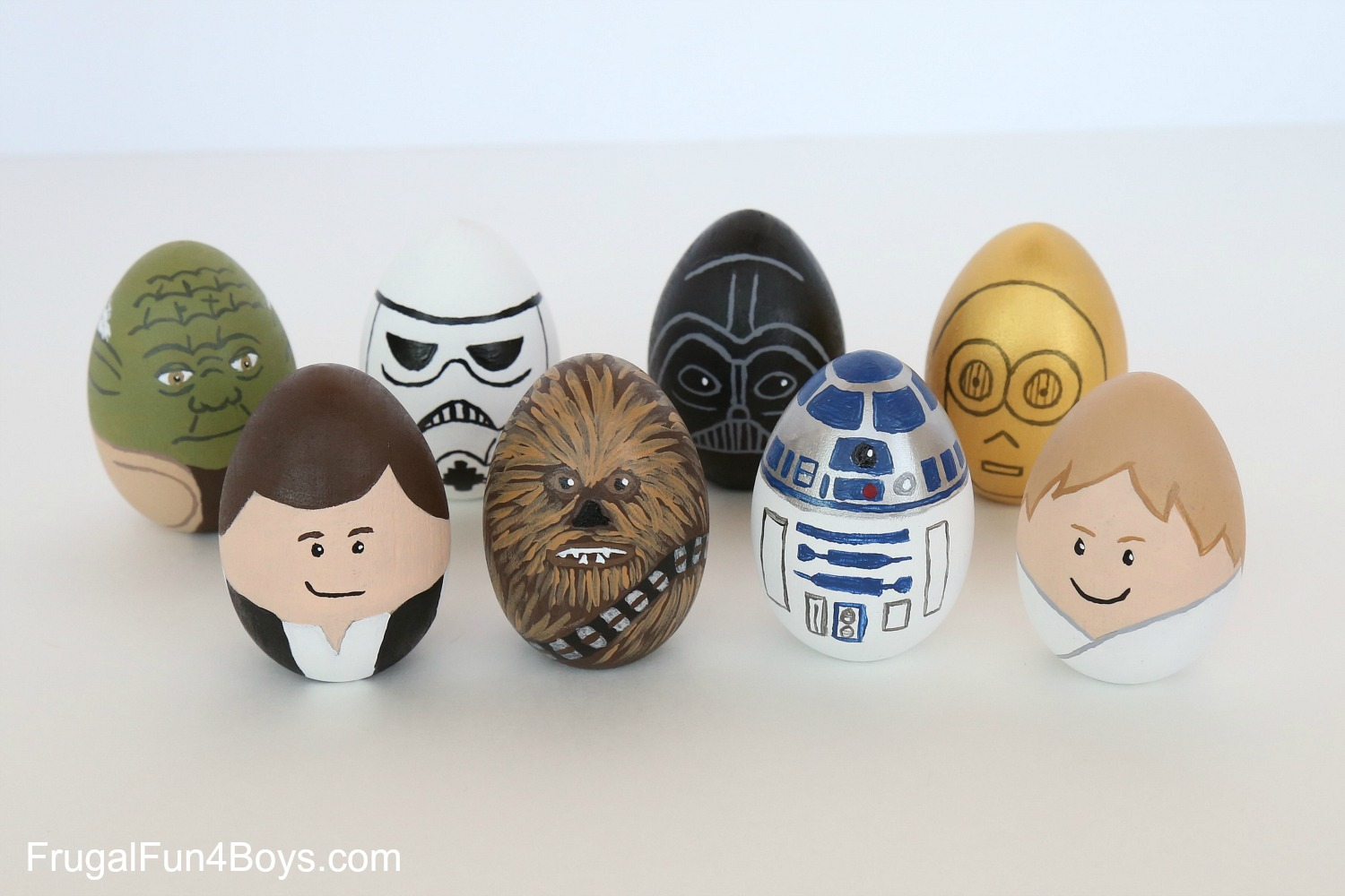 Egg Character Design Ideas : How to paint star wars easter eggs