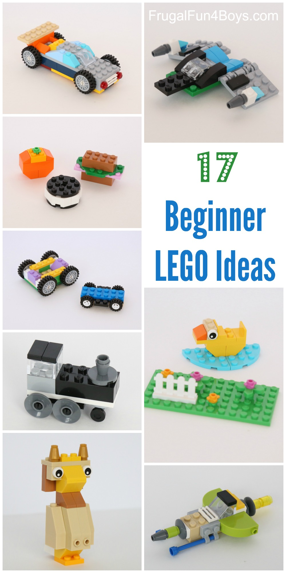 17 Beginner LEGO Ideas with LEGO Classic sets