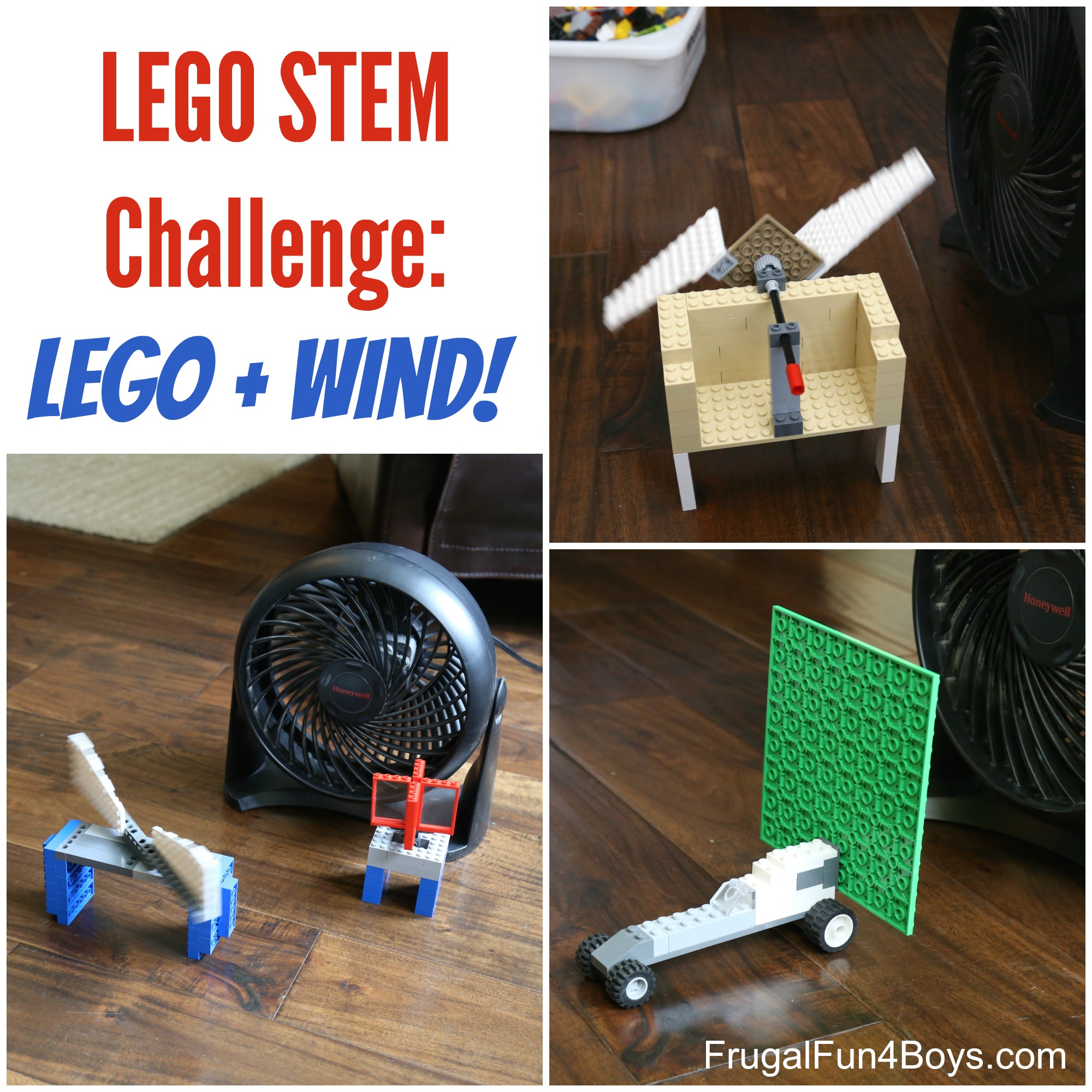 LEGO STEM Challenge: Wind Powered LEGO Contraptions!