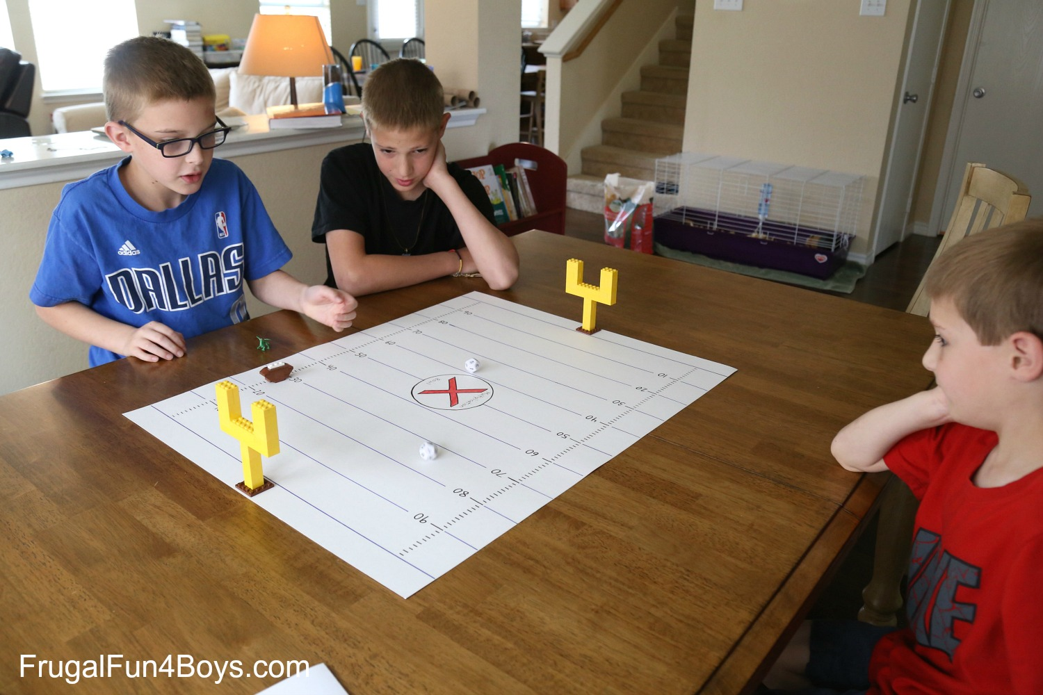 Multiplication Football Math Game for Kids