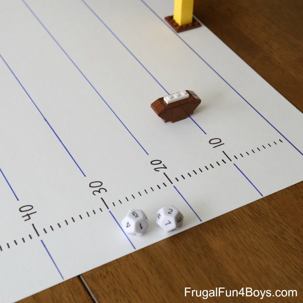 Multiplication Football Math Game