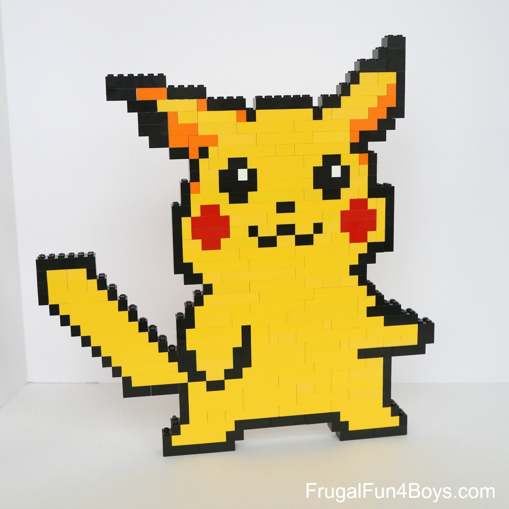 LEGO Pokemon Projects to Build