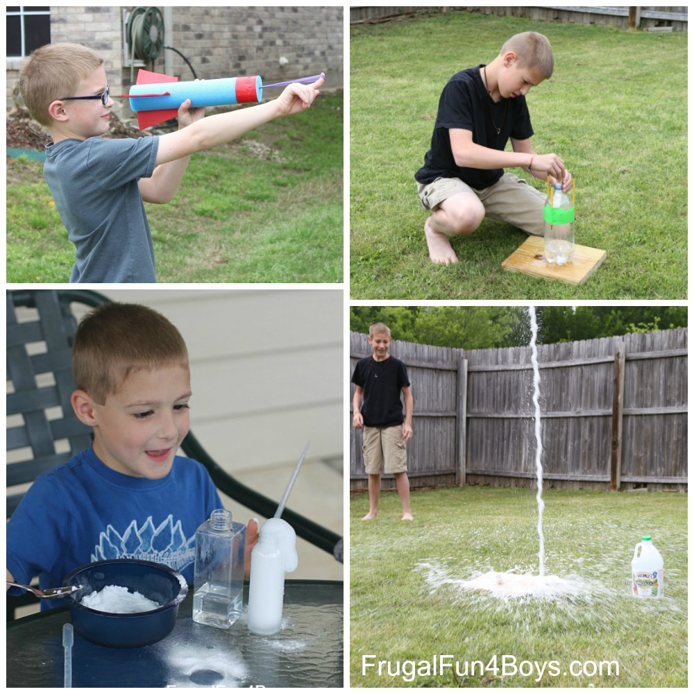 Summer Science for Kids! 15 Projects and Experiments
